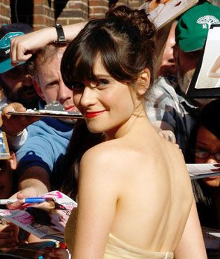 i love pretty much everything about zooey deschanel's style