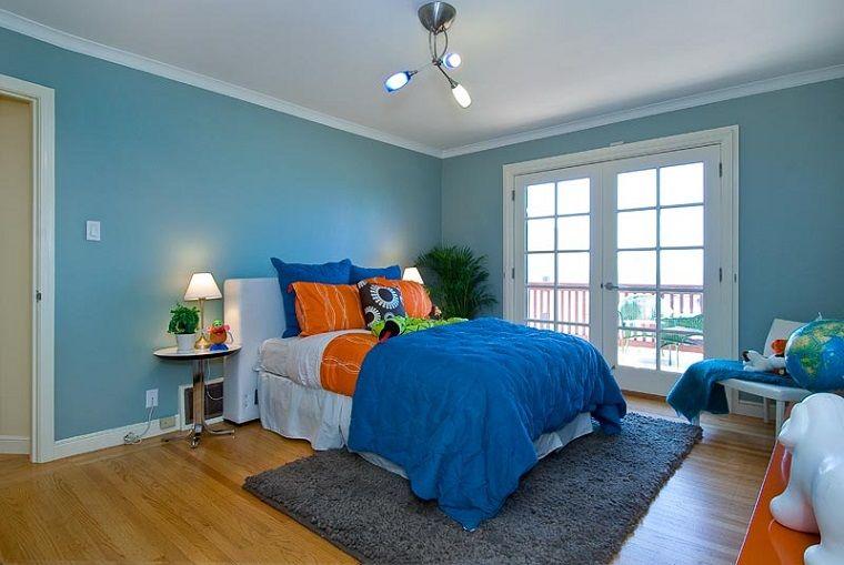Colori Pareti Azzurro : Colori pareti azzurro bordo bianco pittura pareti nel 2019