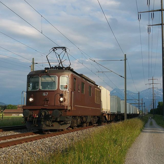 "Switzerland - BLS Re 425 167 ""Ausserberg"""