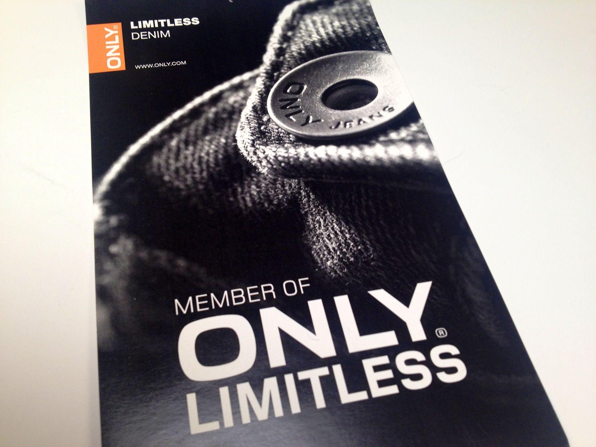 Only limitless.  Tilmeld dig på http://only.dk/ONLY-Customer-club-signup-step1/on-customerclub-signup-step1,da_DK,pg.html?signupEmail=Angiv+e-mailadresse&Sign+Up=Sign+Up