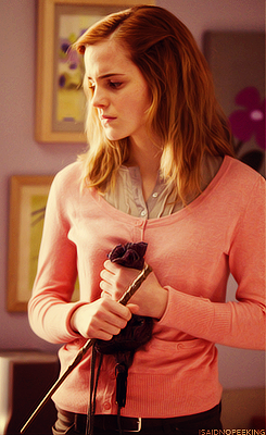 """""""Where else in cinema or a big film franchise is there a female character that is not just supplementary or additional or the pretty face. She's a breakthrough, I think. Ron says at the beginning, """"I don't know if we'll get through a day without Hermione"""". She's like the brains behind the whole operation. And she's so integral to that trio and to Harry's success. I think she's a very important figure."""""""