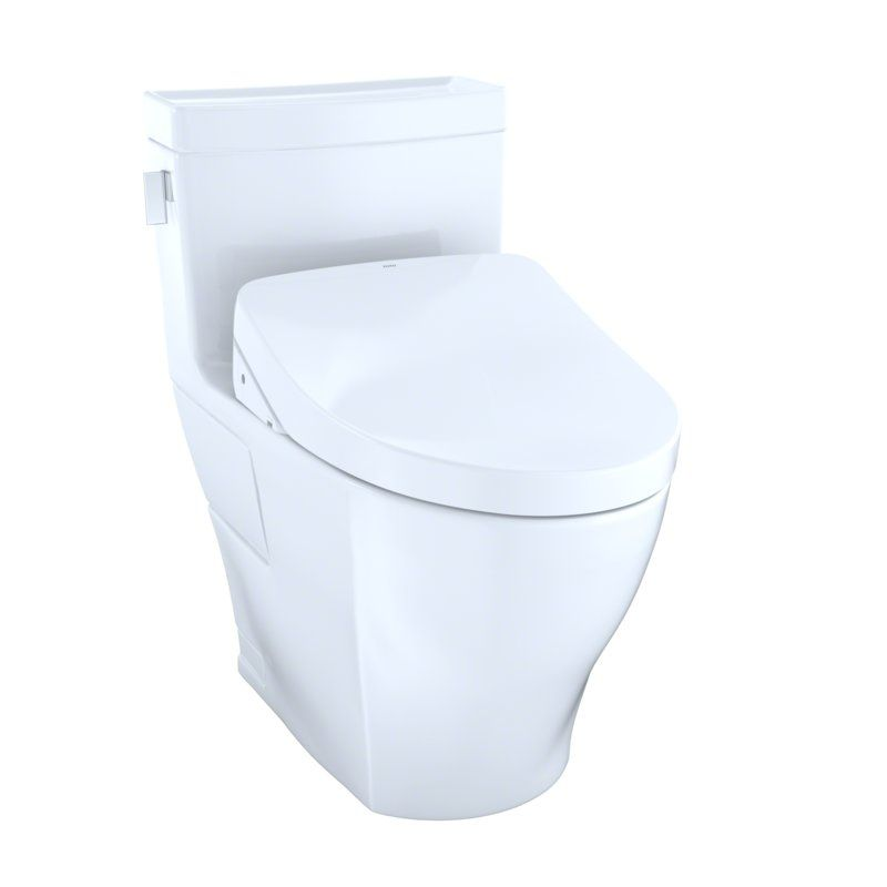 Legato Dual Flush 1 28 0 8 Gpf Elongated One Piece Toilet With