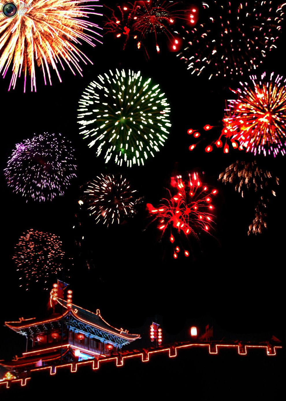 New Year Fireworks (Dengan gambar)
