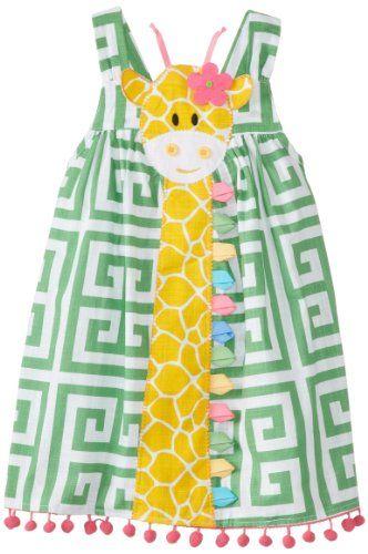 Mud Pie Little Girls' Giraffe Dress, Green, 2T Mud Pie http://www.amazon.com/dp/B00I6M3KPQ/ref=cm_sw_r_pi_dp_r5taub161A692