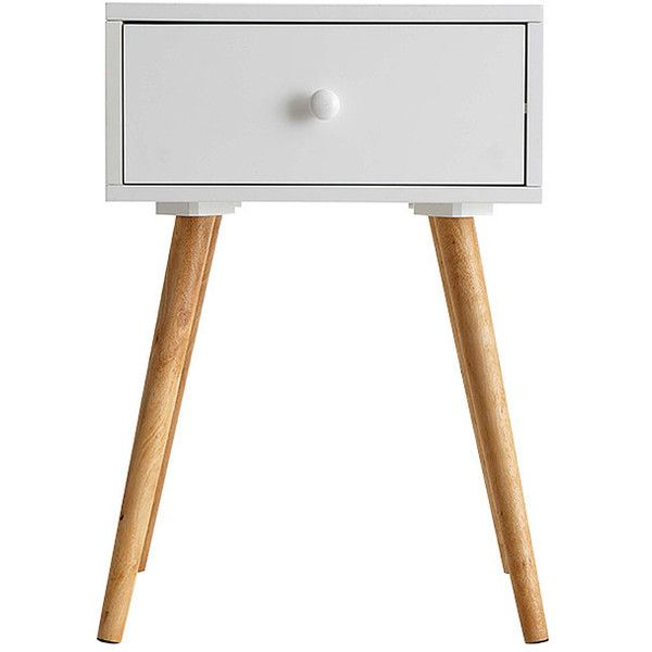Side Table With Single Drawer White Target Australia 180 Cny