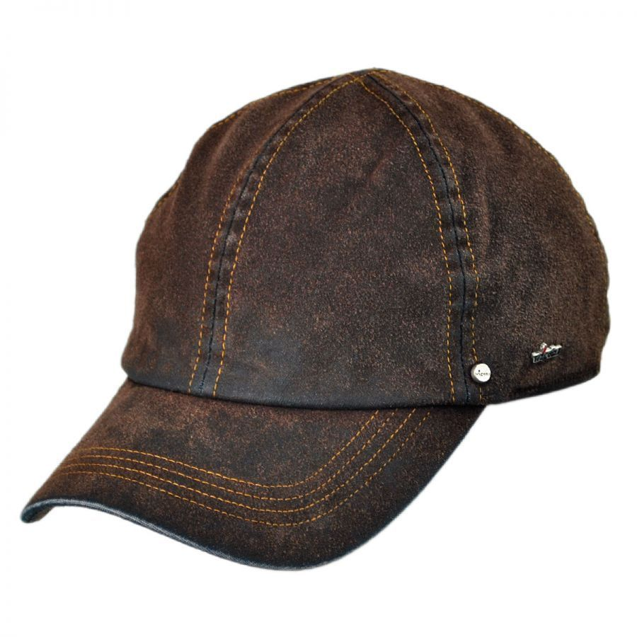 Wigens Caps Suede Denim Baseball Cap with Earflaps  0fb79bf128f