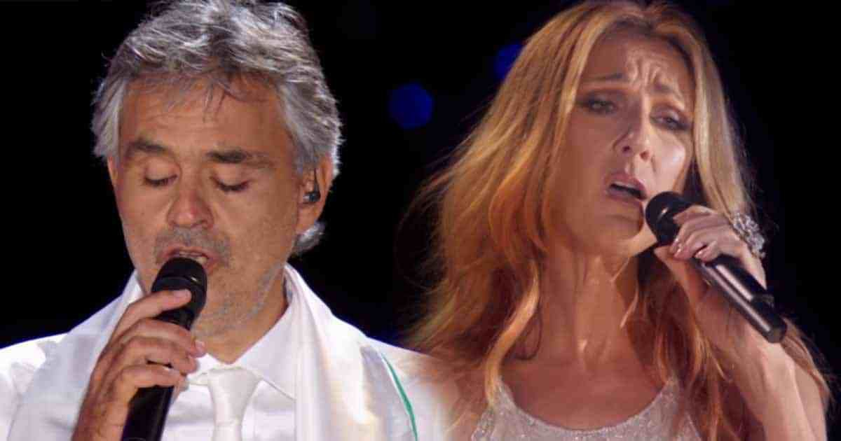 The Prayer A Powerful Song Of Celine Dion And Andrea Bocelli Celine Dion The Prayer Celine Dion The Prayer Song
