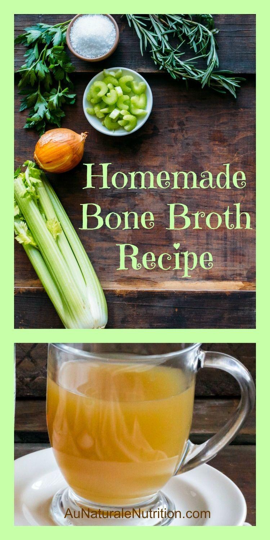 Bone broth au naturale bone broth homemade bone
