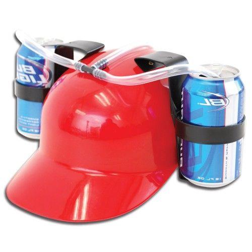 Coca Cola Para El Cabello Para Que Sirve Beer Helmet Red Drinking Hat W Horn Drinking Beer Beer Hat