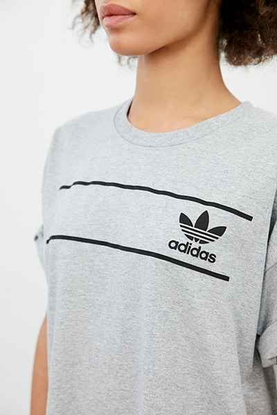 adidas originals retro logo tee womens