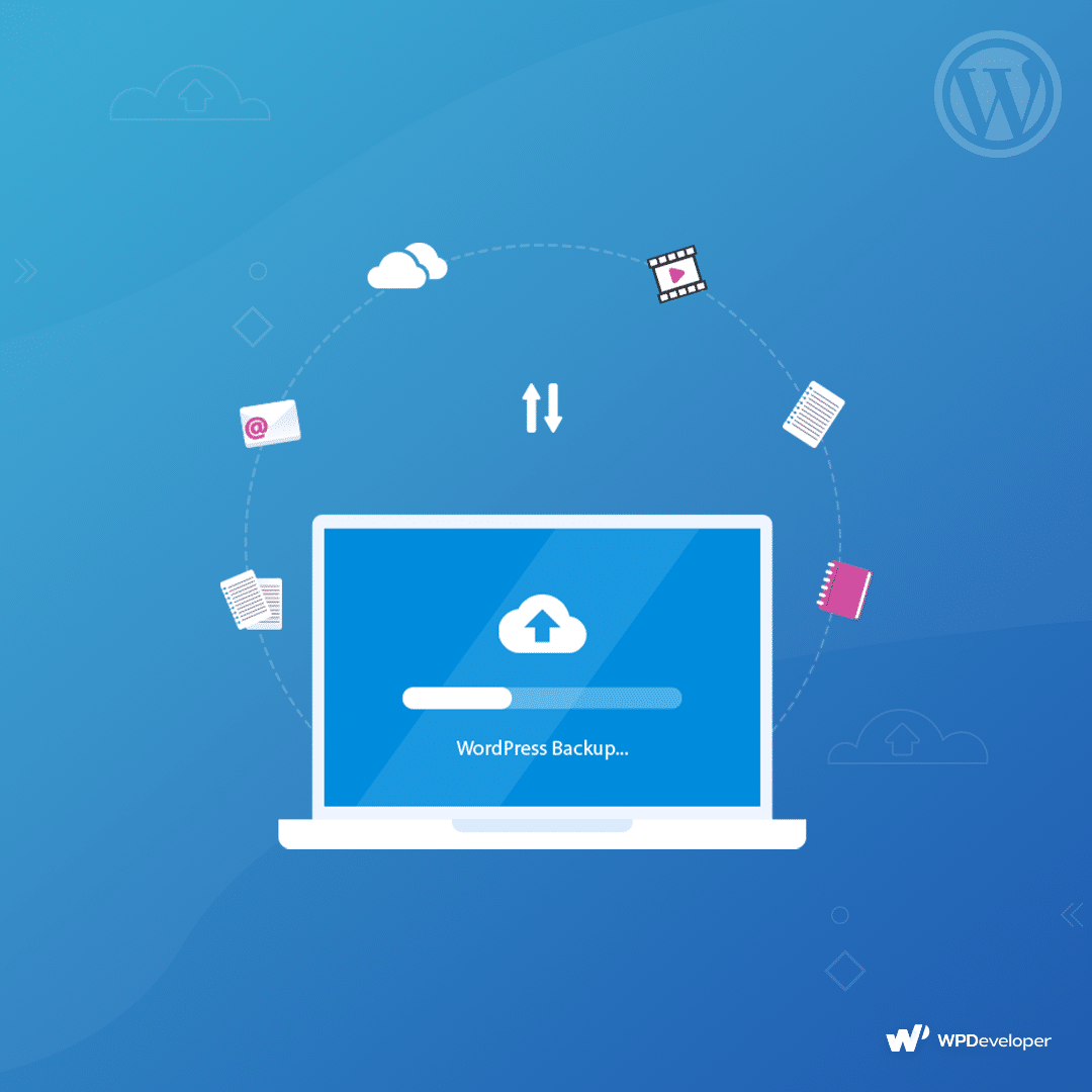 Keeping a daily backup of your website is very crucial