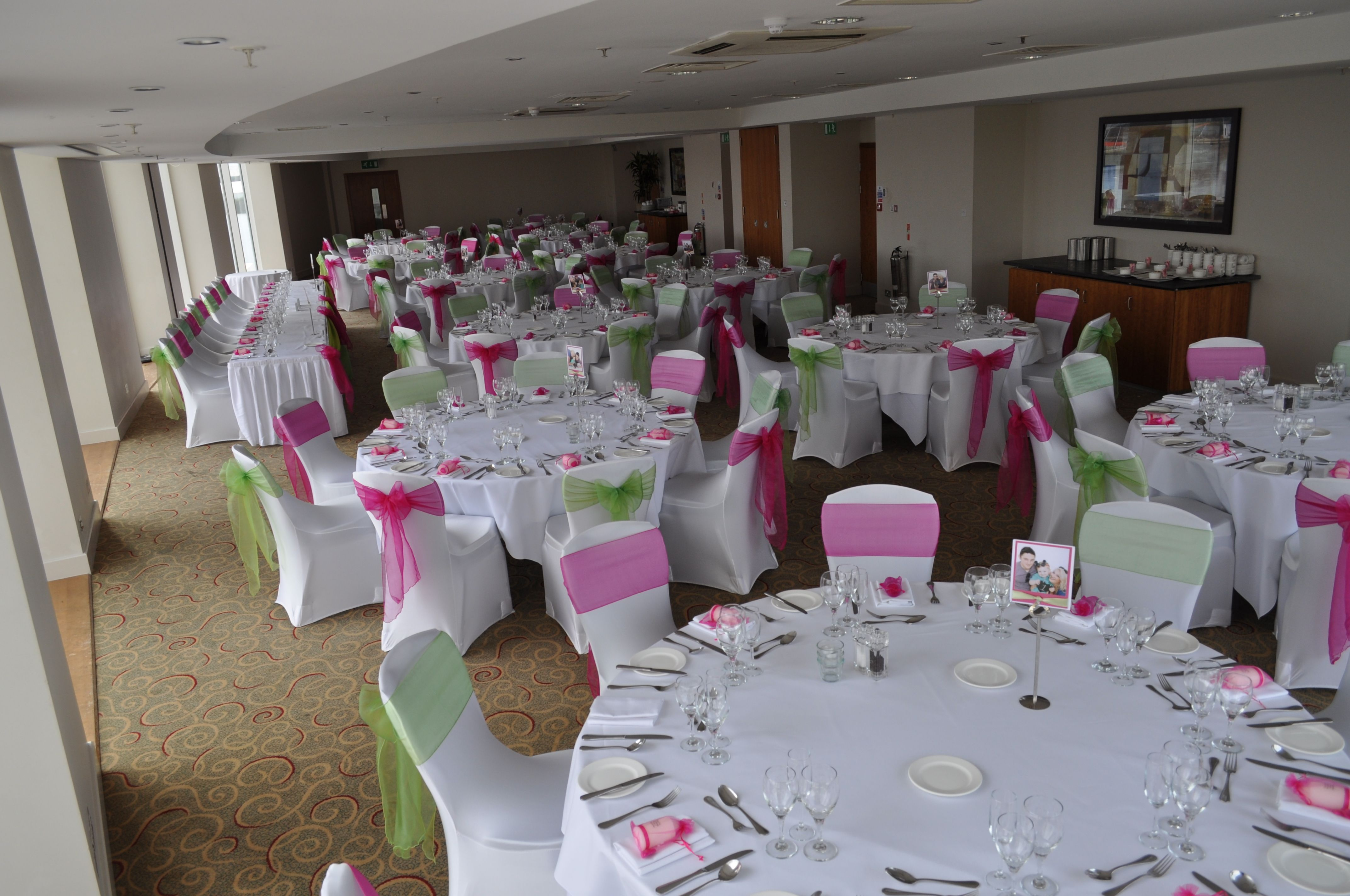 St Davids Hotel Cardiff Chair Covers Wedding Sash
