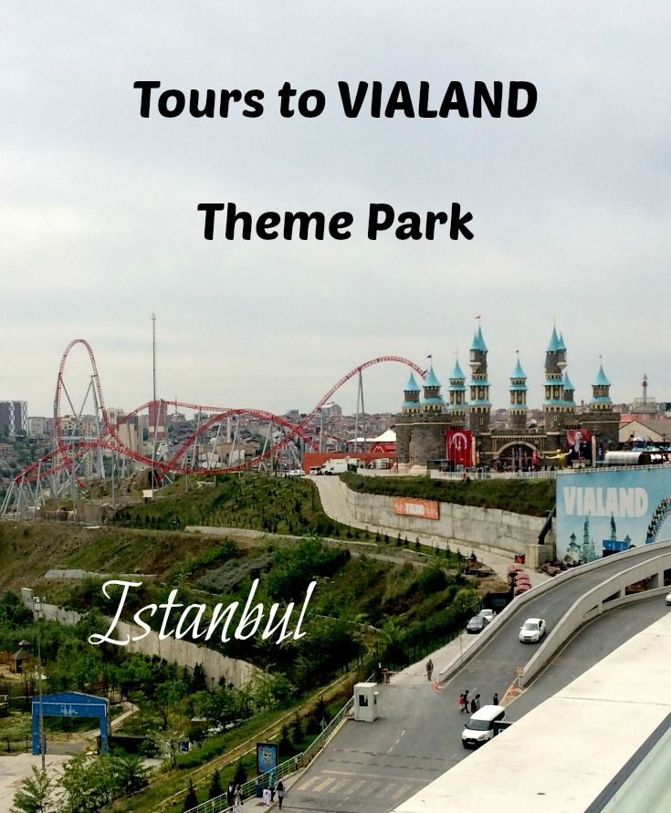 VIALAND Theme Park In Istanbul Is The Only Amusement Park