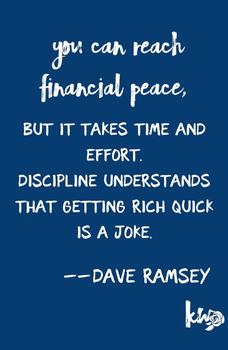 Dave ramsey quotes financial peace a home business