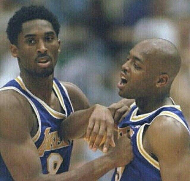 7382bbc7267 ... Kobe Bryant 90s: Kobe Bryant And Nick Van Exel