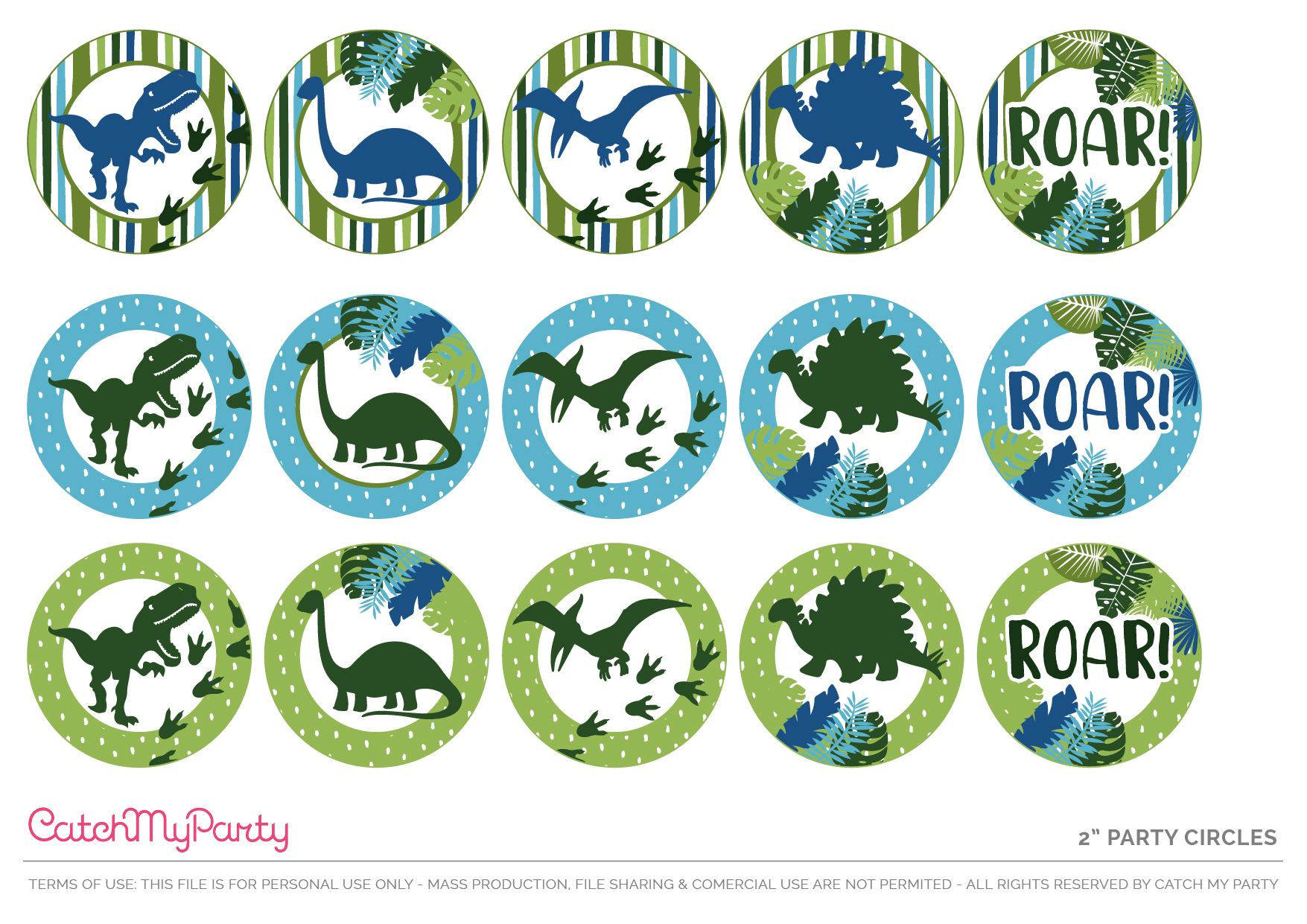 Download These Free Dinosaur Party Printables Take A Look At The Awesome Party Birthday Party Printables Dinosaur Birthday Party Decorations Dinosaur Birthday