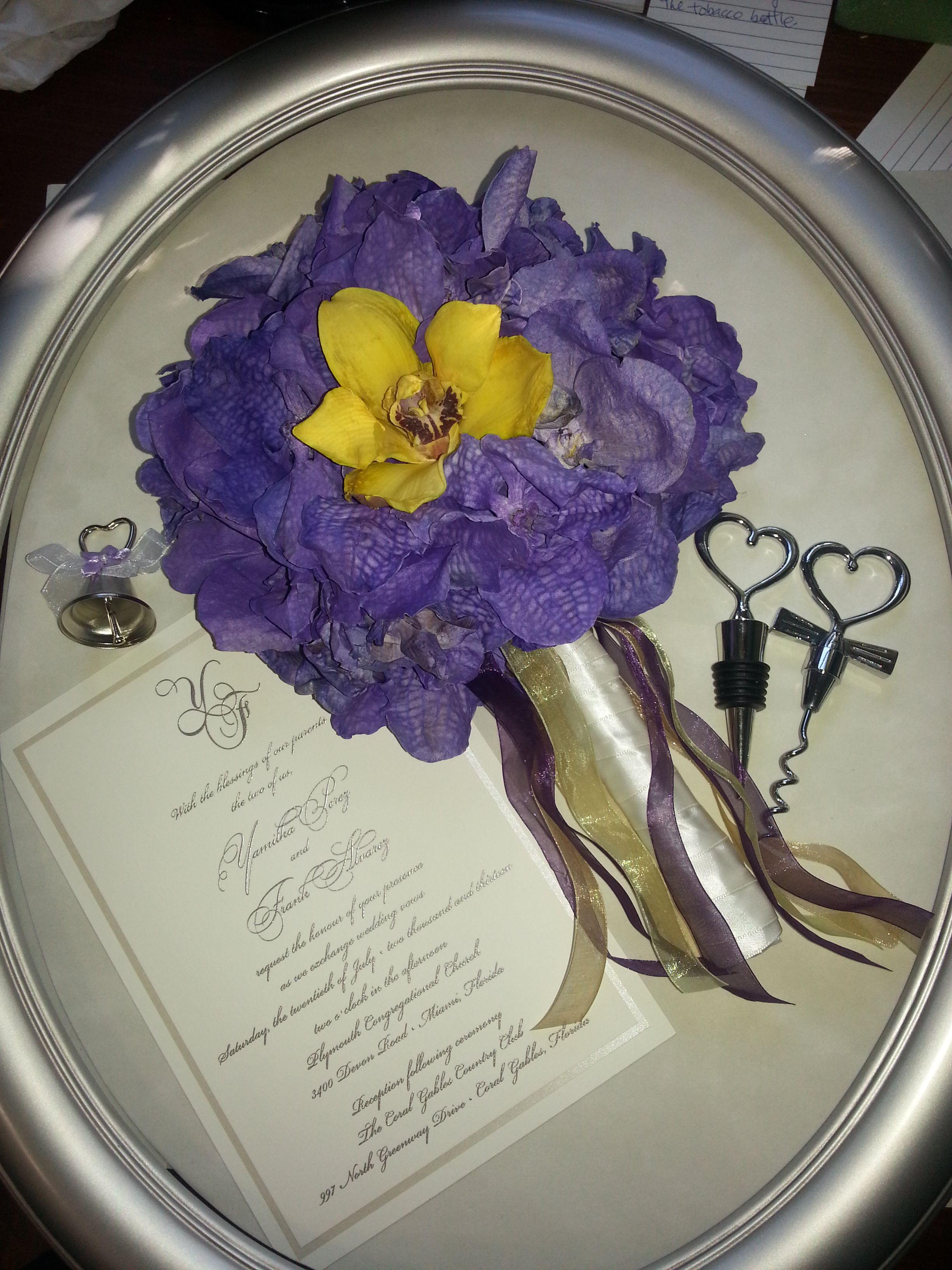 43+ Wedding flower preservation frame information