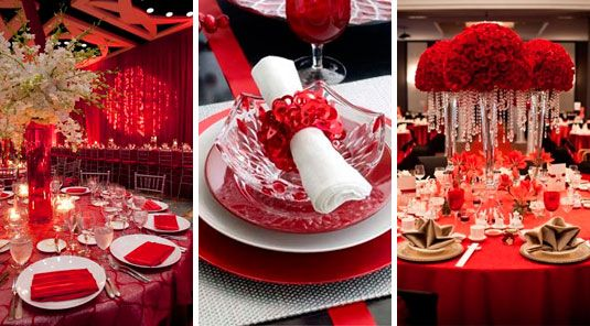 Decora la fiesta de quince a os de rojo ideas para for Ideas para decorar fiestas de 15