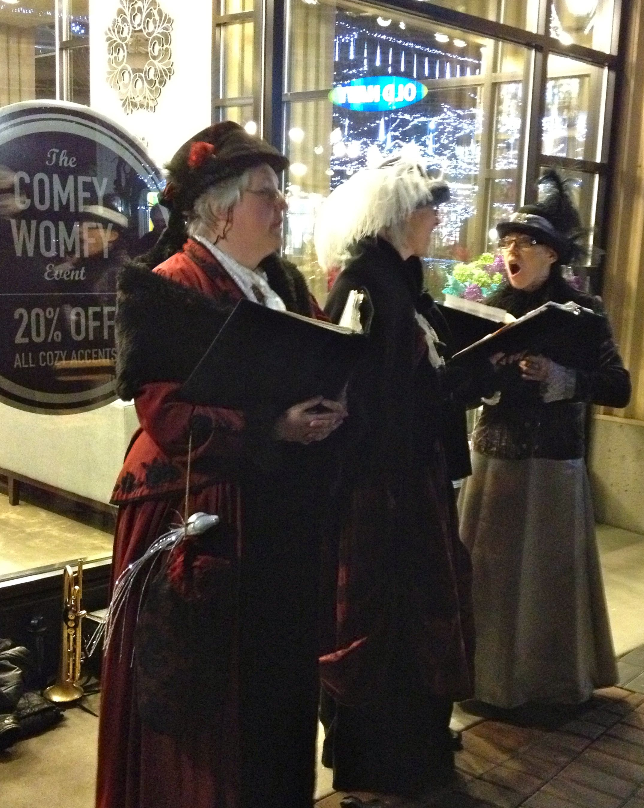 Carollers At The Village Park Royal