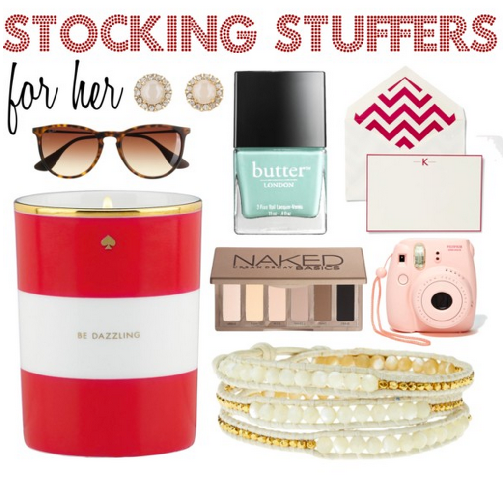 Stocking Stuffers For Her To Give Pinterest