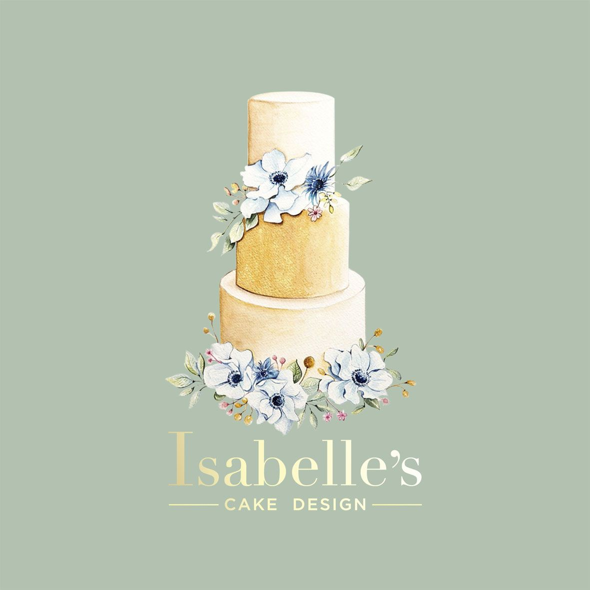 Logo design for Isabelle\'s cake design | logo de si gn | Pinterest ...