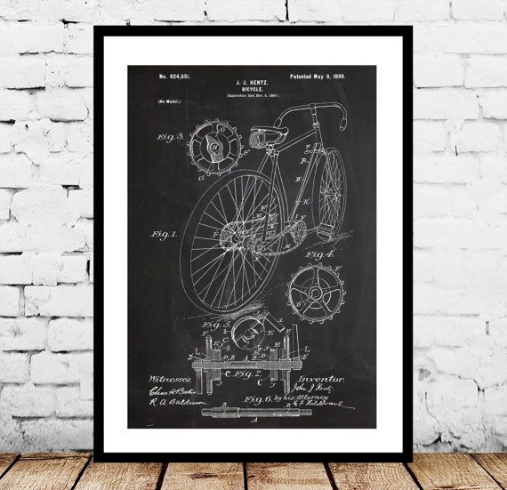 Bicycle print bicycle poster bicycle patent bicycle decor bicycle print bicycle poster bicycle patent bicycle decor bicycle art bicycle blueprint bicycle wall art bicycle gifts by stanleyprinthouse 100 usd malvernweather Images