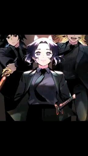 | Save & Follow | Shinobu Kocho • Giyu Tomioka • Kyojuro Rengoku • Live Wallpaper • Demon Slayer