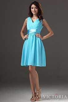 Knee Length Plus Size Prom Dresses - VictoriaProm.com | alyssa's ...
