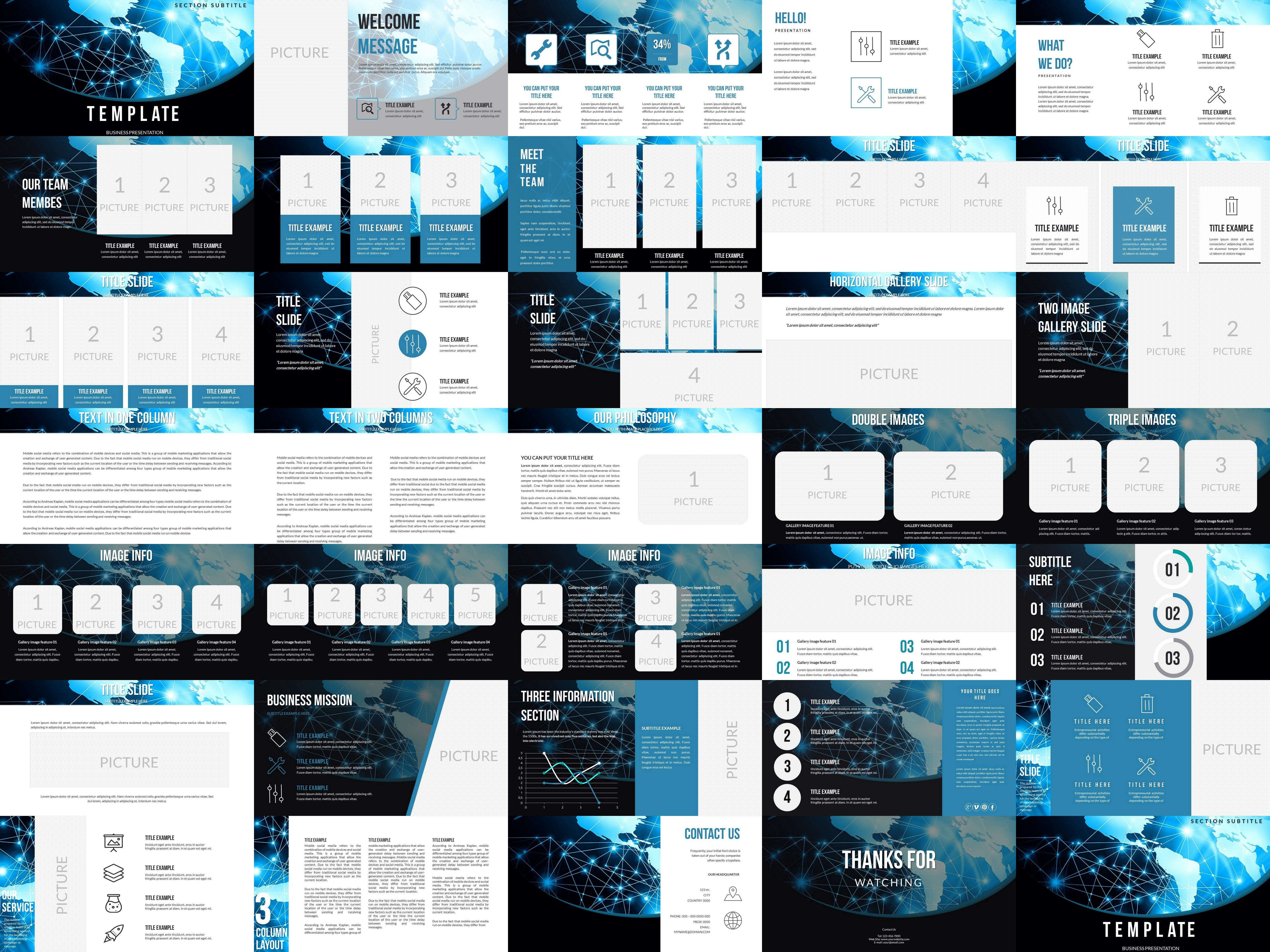 Provider PowerPoint templates (With images
