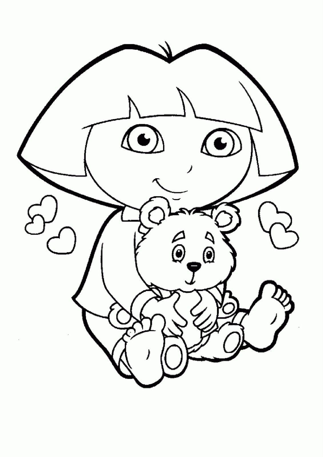 Dora la exploradora y su osito | dibujos | Pinterest | Dora la ...