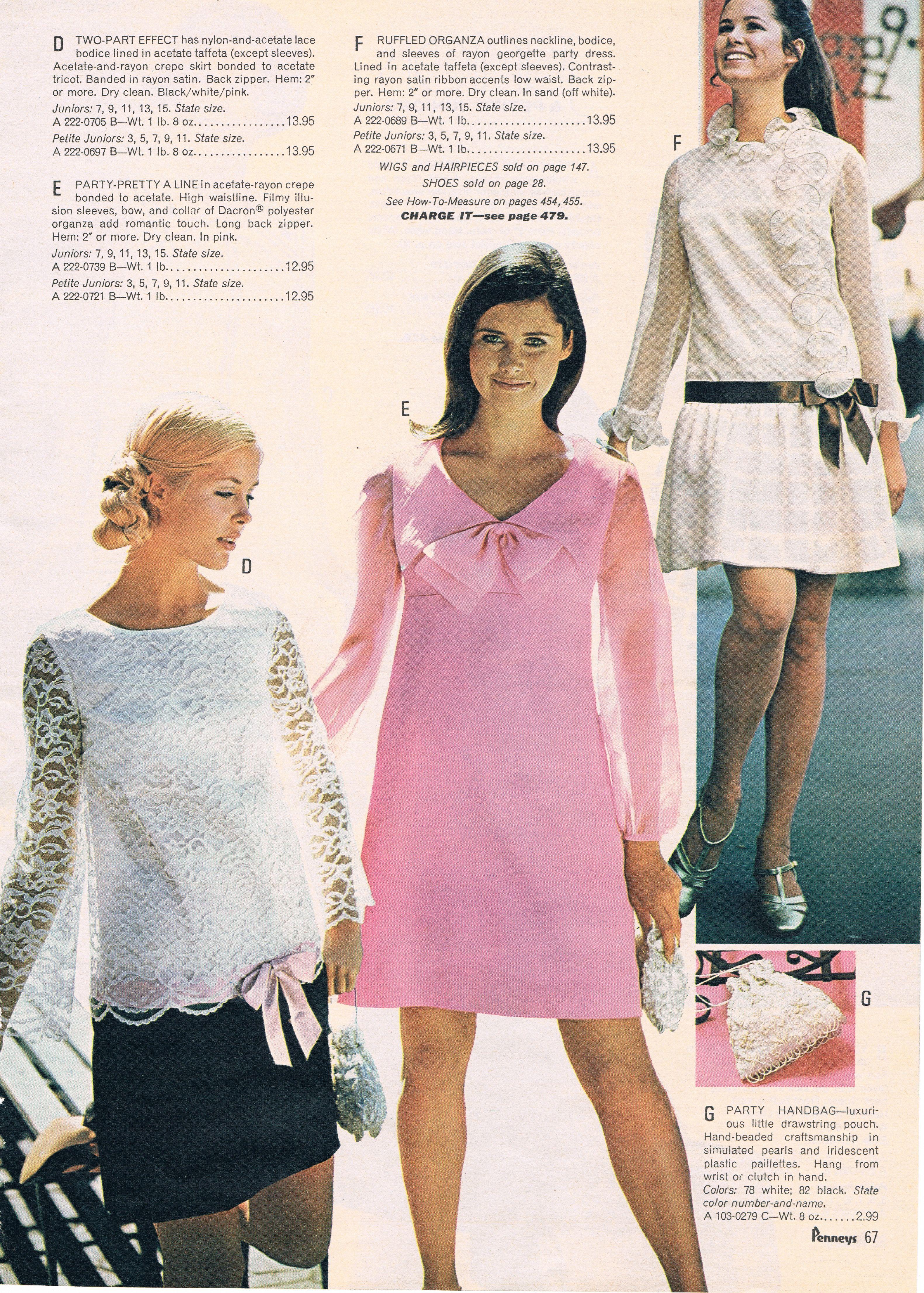 Penneys catalog 60s   1960-1962   Pinterest   Vestidos verano ...