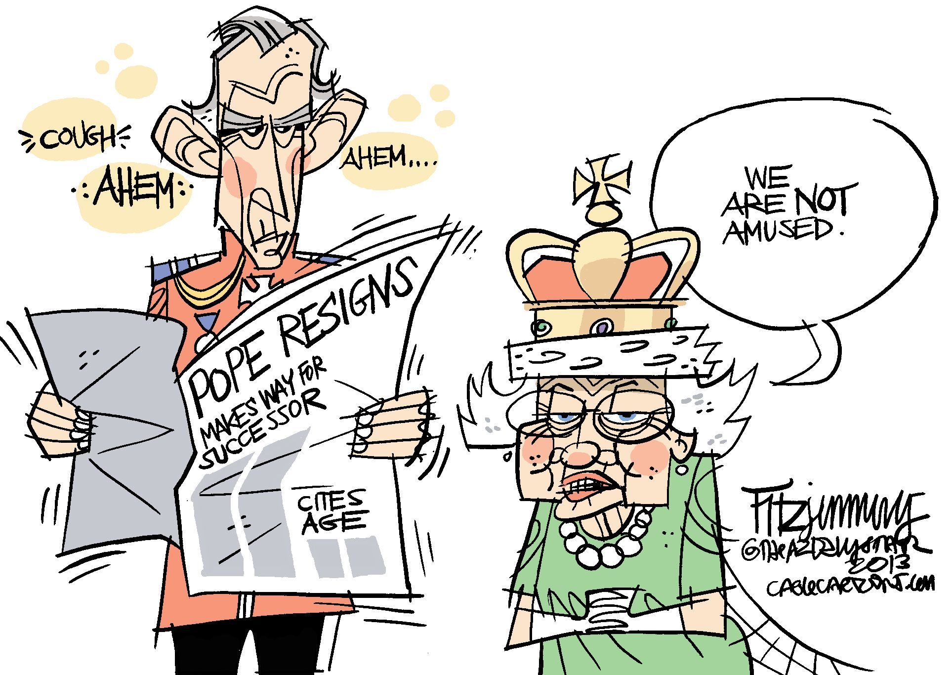 Image Result For Royal Family Cartoons Dessin Famille Royale Blague