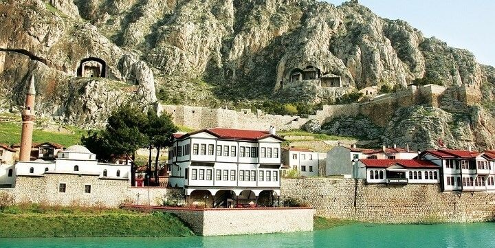 Amasya, Central Anatolia, Turkey