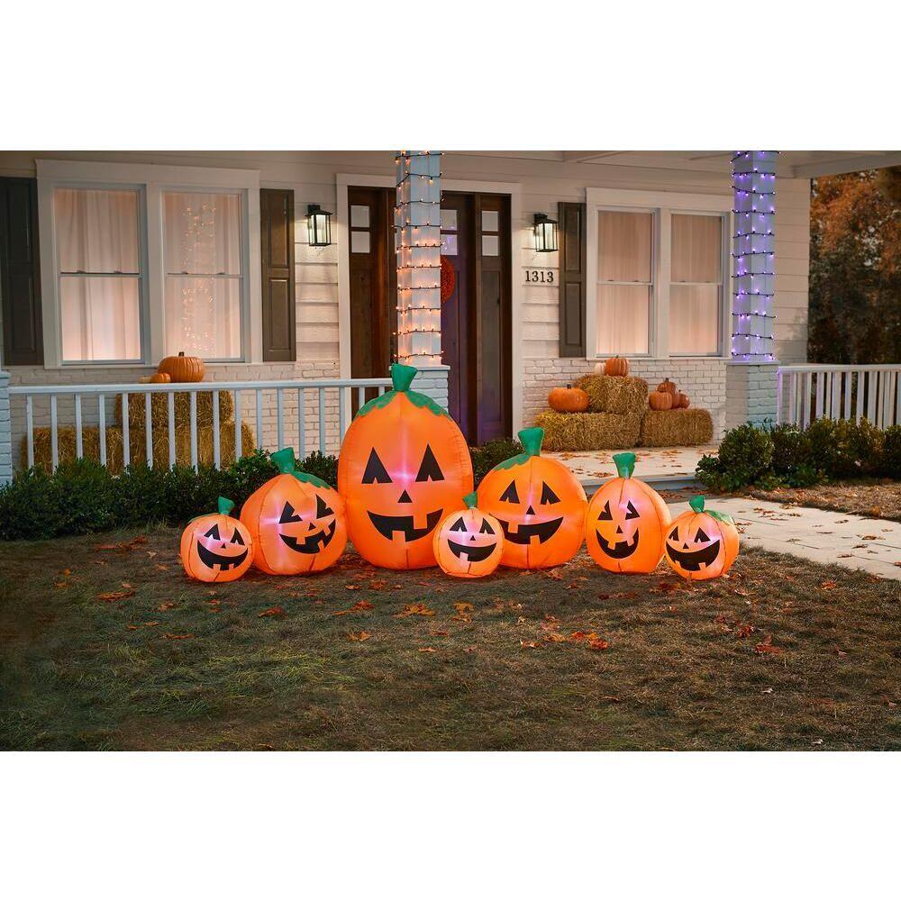 Gemmy 3.35 ft. Harvest Pumpkin Halloween Inflatable74717