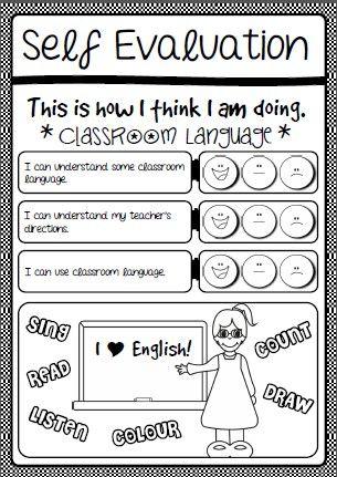 Classroom Language Cover  Self Assessment HttpEslchallenge