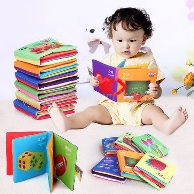 awesome Hot Intelligence development Cloth Cognize Book Educational Toy for Kid Baby 1PC - For Sale