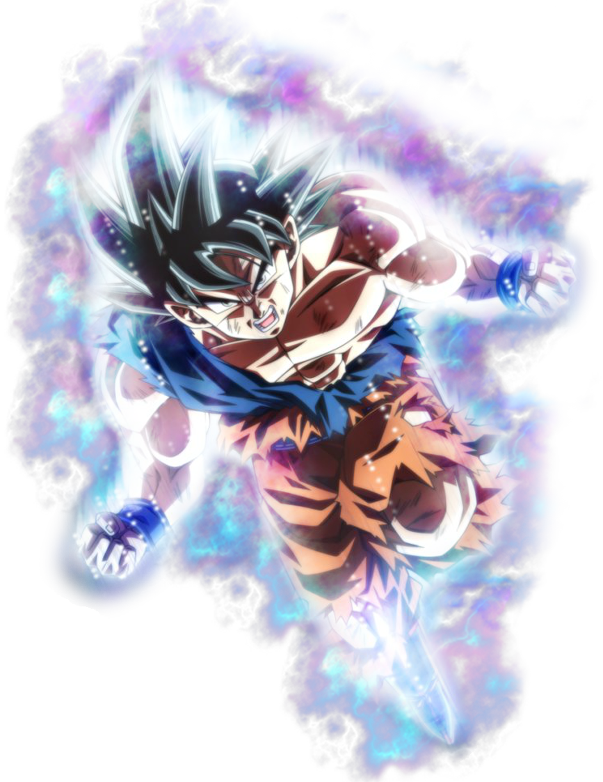 Ultra Instinct Goku Break The Limit By Azer0xhd Dragon Ball Super Wallpapers Dragon Ball Artwork Android Wallpaper Anime