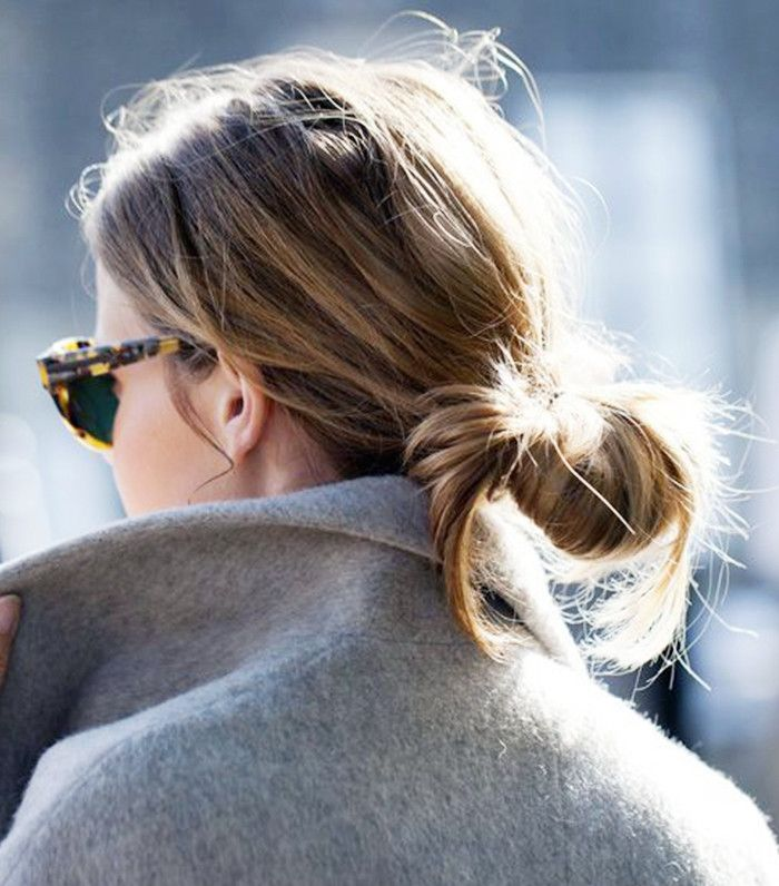 8+Times+Low+Buns+Were+Way+Cooler+Than+Topknots+via+@ByrdieBeauty