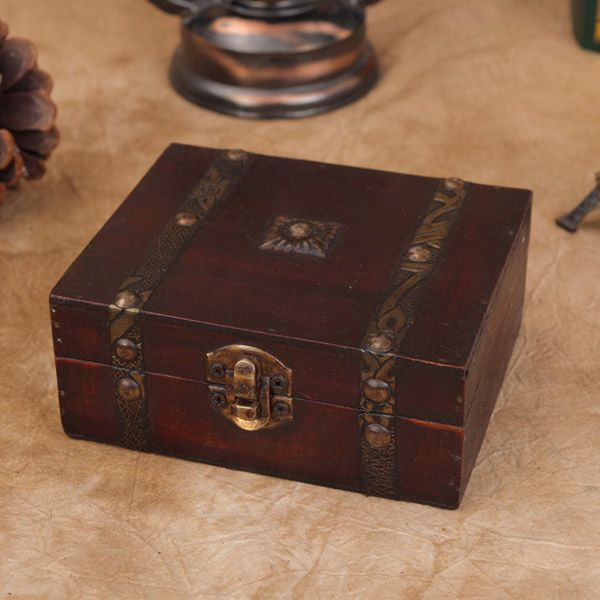 Sale 18 231 Vintage Wooden Jewelry Gift Box Storage
