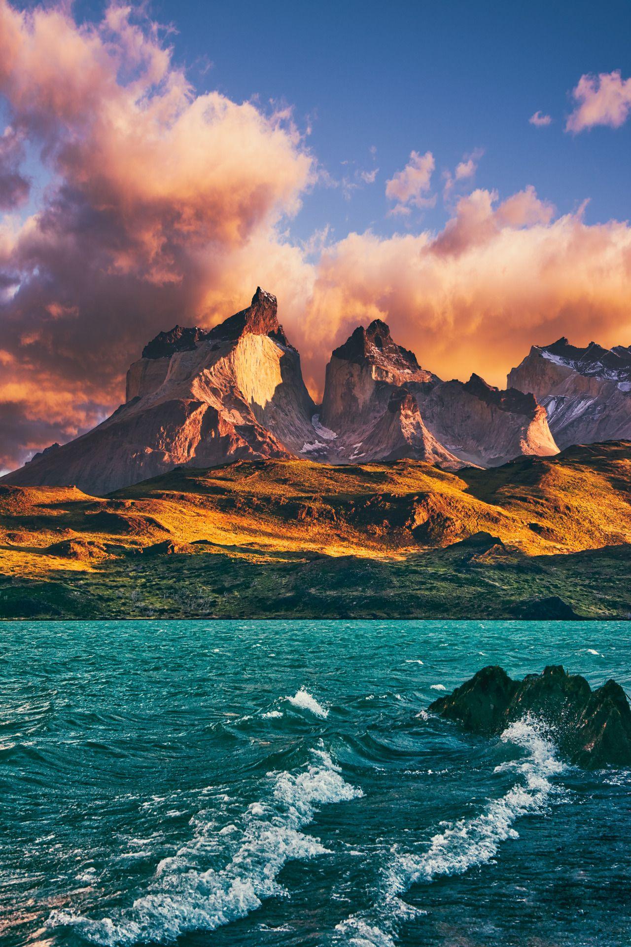 Epic Sunrise…Torres Del Paine, Patagonia, Chile