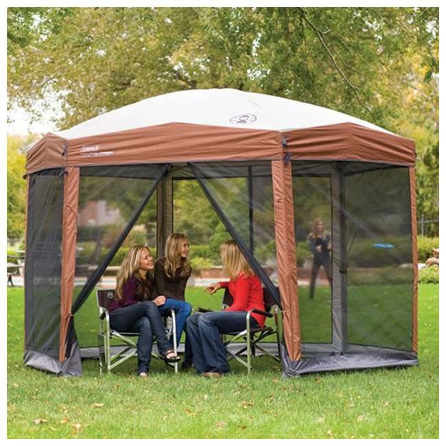 Coleman Instant Screened Canopy Tent Shelter w/ Carry Bag & Coleman Instant Screened Canopy Tent Shelter w/ Carry Bag - 12u0027 x ...