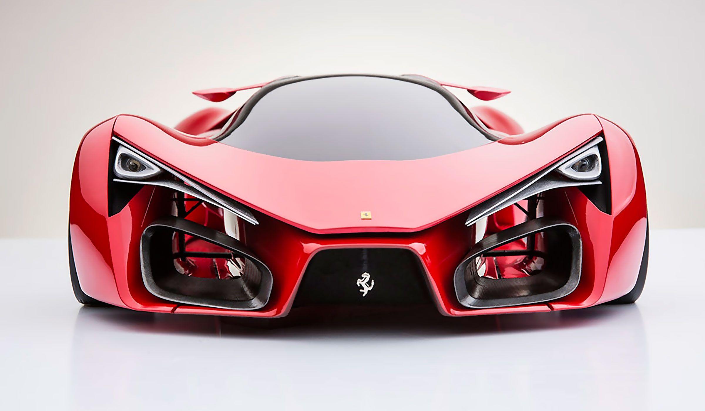 Ferrari F80 Concept By Adrian Oraeli Muted Ferrari F80 Super Cars Ferrari