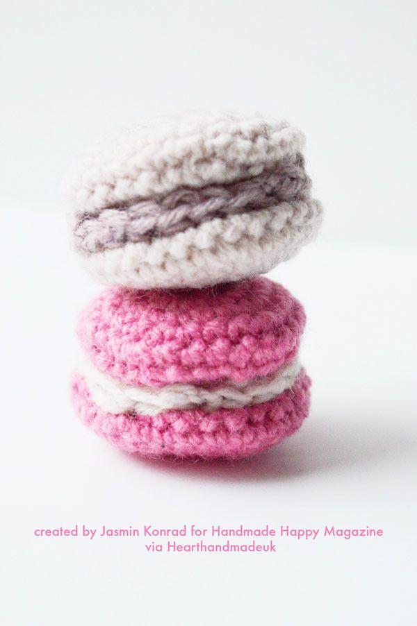How To Crochet Macaroons | Mono, Tejido y Patrones