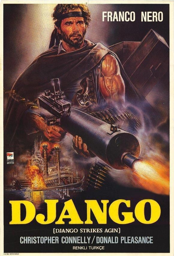 The Return Of Django 1987 Movie Con Imagenes Carteles De