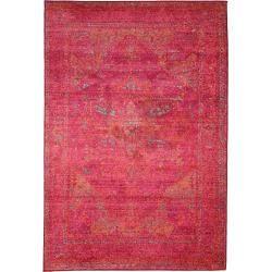 Photo of benuta Teppich Liguria Pink 80×140 cm – Vintage Teppich im Used-Look benutabenuta