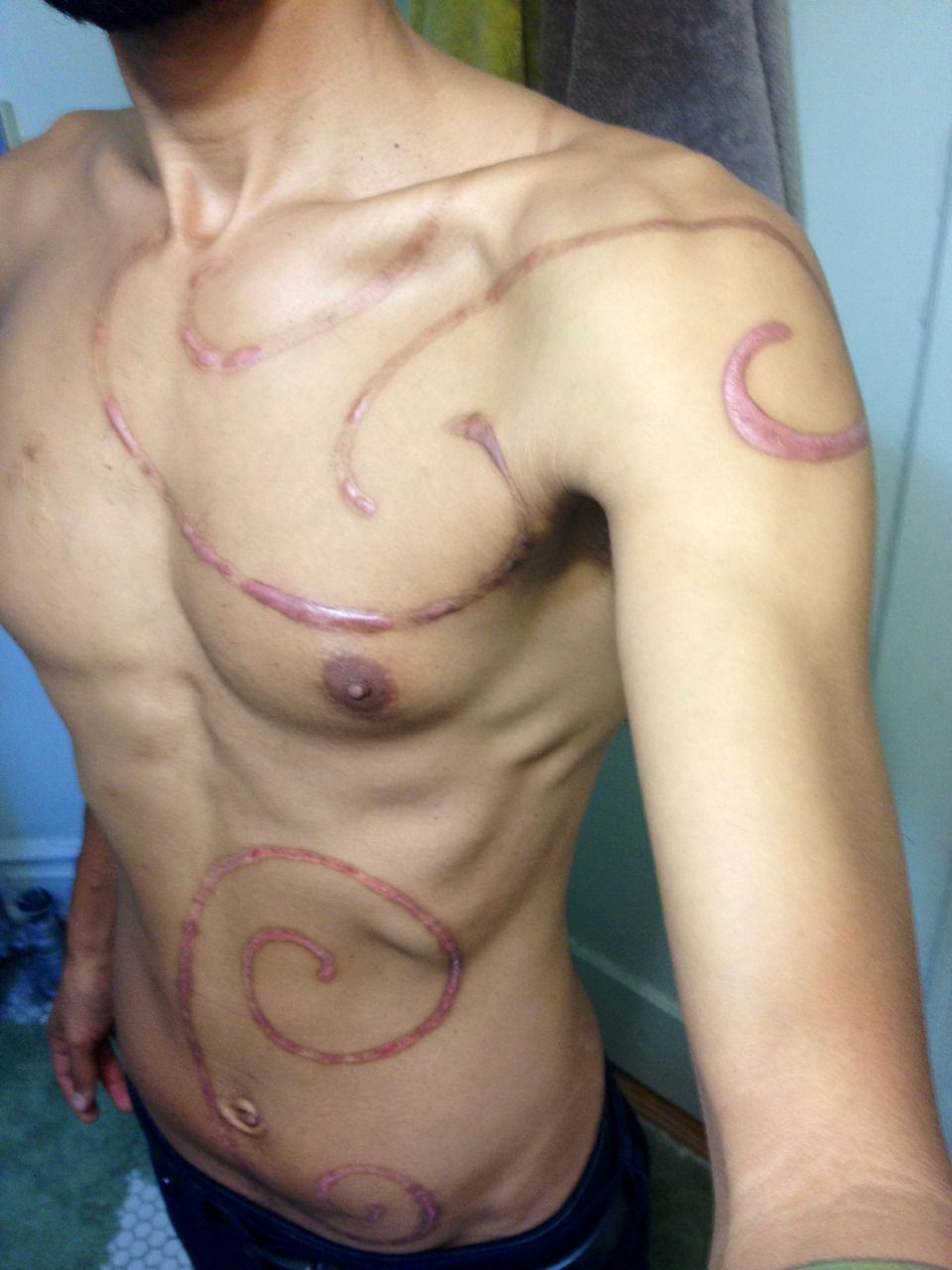 Tumblr Body Modifications Body Mods Stomach