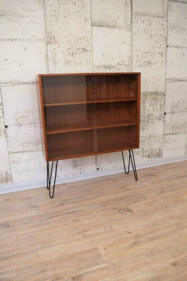 50er 60er Jahre Wk Mobel Vitrine Sideboard Kommode Regal Hairpin