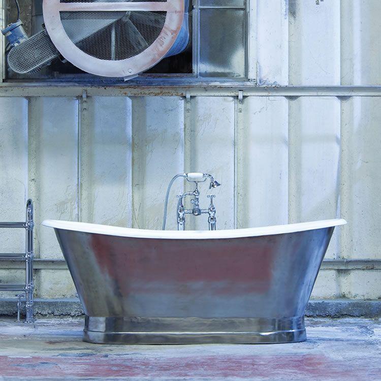 Traditional Bathroom Suites Arroll The Lyon Cast Iron Boat Bath ...