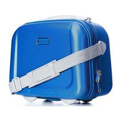 0c0a84a89f05e Obstarajte si tento malý pevný kozmetický kufrík 14 litrový v karibskej  modrej farbe od firmy Puccini kolekcie Ibiza, ale aj dokonale užitočný ako  kufrík ...