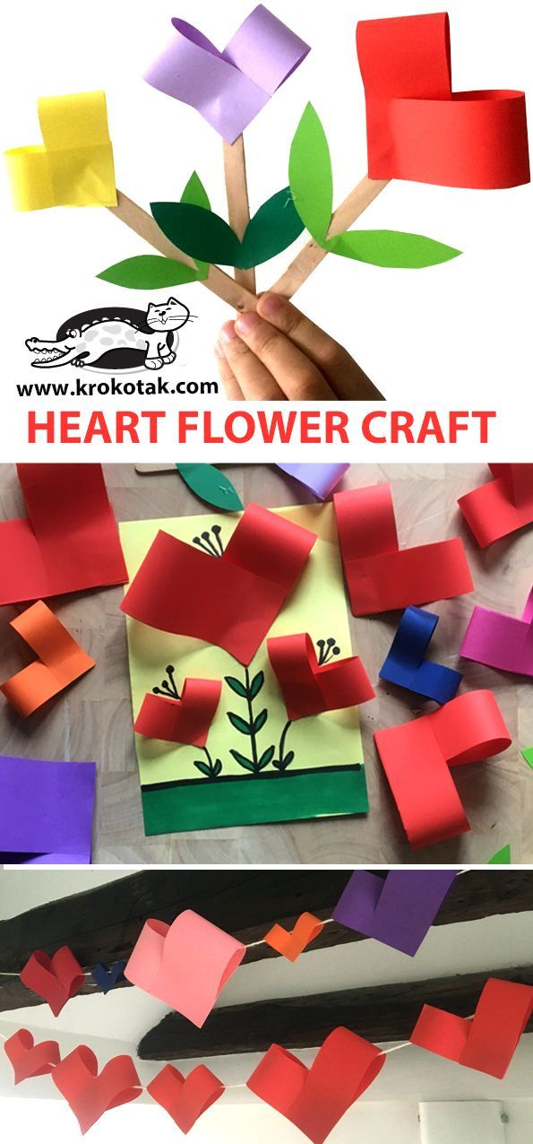 Photo of HEART FLOWER CRAFT – Kar Trends